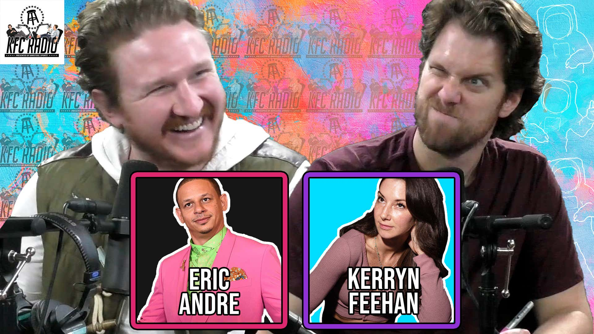 KFC Radio: Eric Andre, Kerryn Feehan, Zoom Masturbating Etiquette, Pope Supports Same Sex Unions, and Sexy Potatoes
