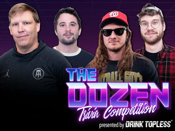 Trivia REMATCH With PFT & Nick vs. Brandon & KB (The Dozen presented by Draft Top: Episode 053)