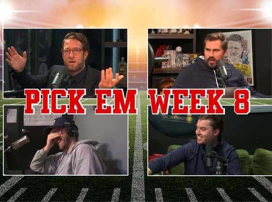 The Hype Circle - Pick Em Week 8 Full Video