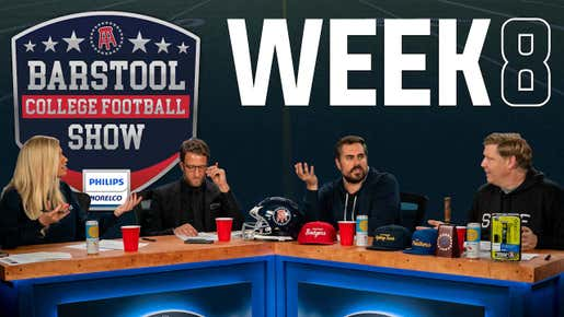 Barstool College Football Show presented by Philips Norelco - Week 8