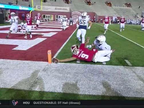 Massive Drama To End IU-Penn State....Was Michael Penix Jr. Short?
