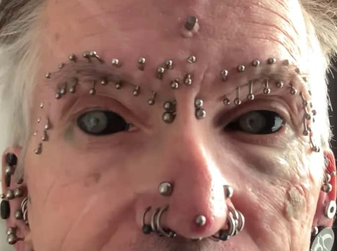 Is Your College Team Losing Today? Check Out This Guy With Over 560 'Body Modifications' Instead