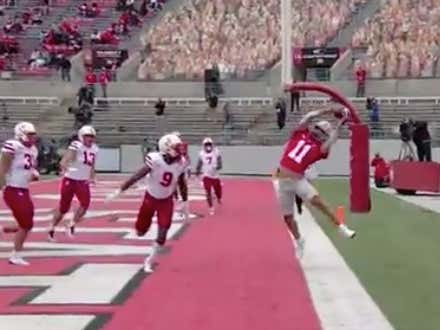 Ohio State Recievers Are Now Defying Physics