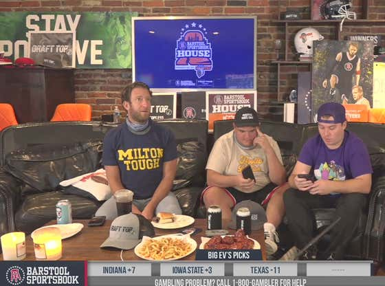 Full Replay (Part 2): College Football - Week 8 at the Barstool Sportsbook House