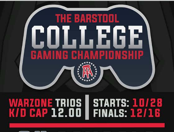 The First Ever Barstool College Warzone Tournament Is Coming - SIGN UP TODAY