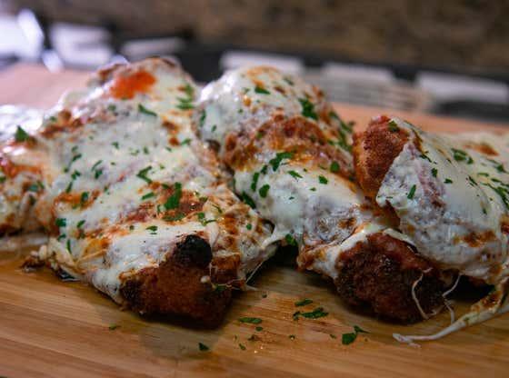 Chicken Parmesan   The Quarantine Cook