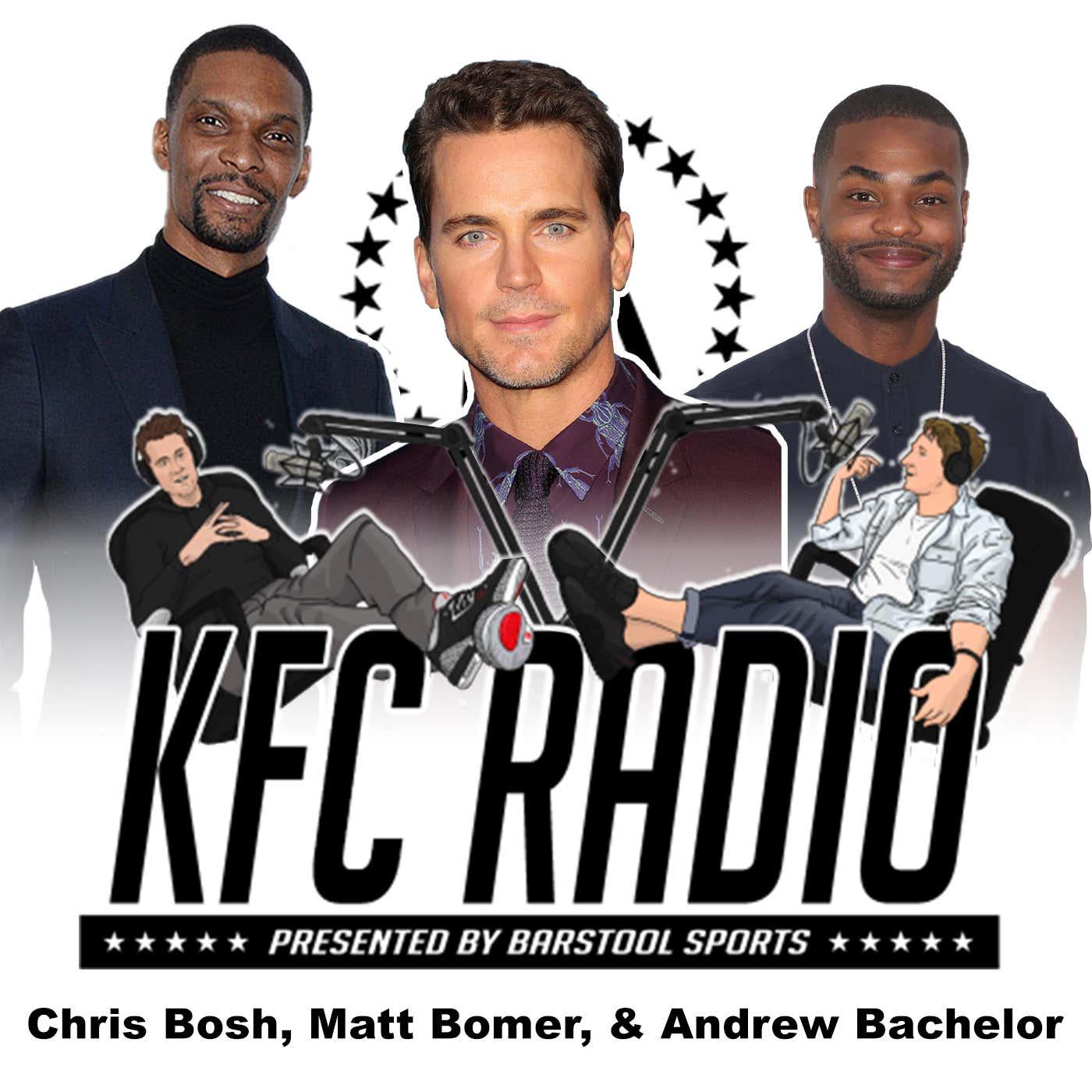 """Chris Bosh, Matt Bomer, Andrew """"King Bach"""" Bachelor, and Livin in Simp City"""