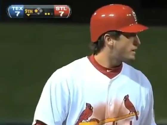 9 Years Ago Today David Freese Pulled Off Some Of The Greatest Post-Season Heroics Of Our Lifetime