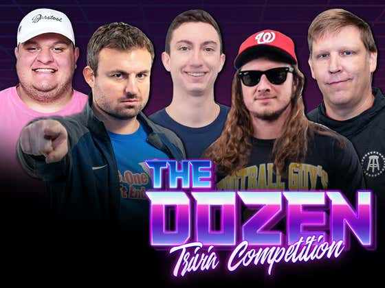 Return Of Banned Rival In Trivia Battle For The Ages (The Dozen: Episode 054)