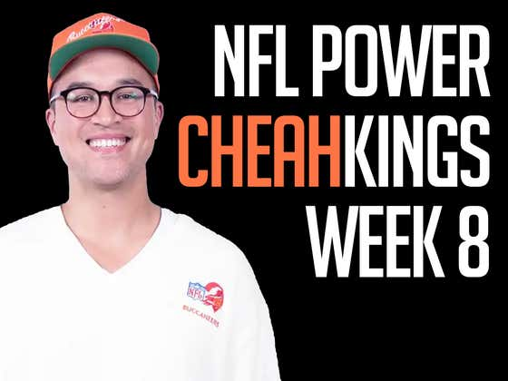 NFL Power Cheahkings - Week 8 Edition