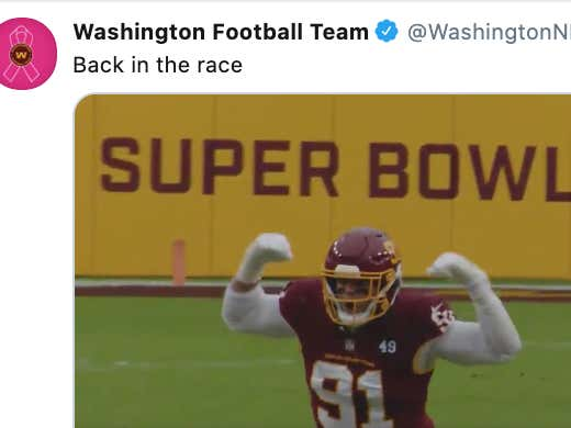Did Your 2-5 Football Team Just Release A Hype Video So Good That Now I'm Almost Positive We Are Winning The Division? Mine Did!