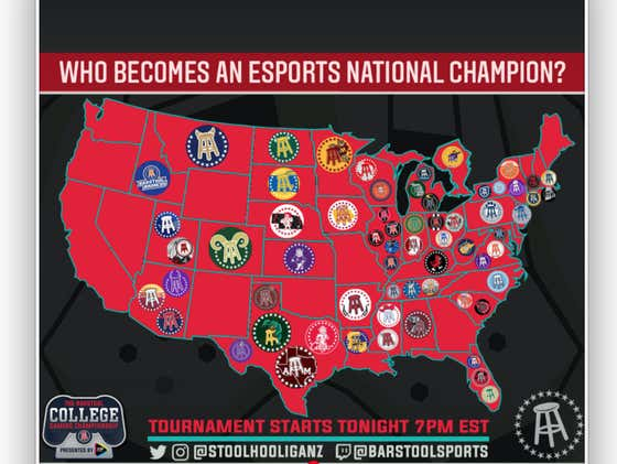 The Barstool College Gaming Championship Is LIVE And You - Yes YOU - Can Watch And Win A PS5, XBOX Series X, Or $500 Amazon Gift Card