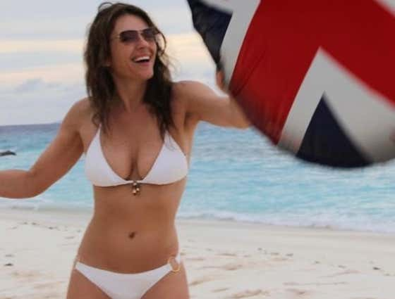 Elizabeth Hurley Continues to Run Up the Score on the Rest of Humanity