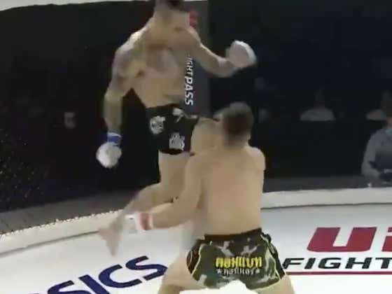 This Flying Knee Is Even Better Than The One Before - An EASY Knockout-Of-The-Year Contender
