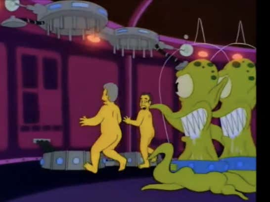 Wake Up With the Simpsons Halloween Election Episode 'America Flips a Coin'