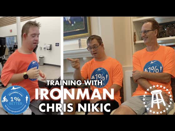The Conclusion Of My Training Video With Ironman Chris Nikic. Next Week He Becomes The First Person With Special Needs To Complete The Triathlon.
