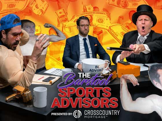 Barstool Sports Advisors NFL Week 8