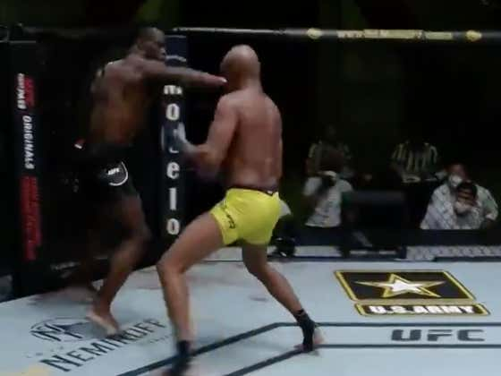 Uriah Hall Sends Anderson Silva Out On His Back With A Fourth Round TKO