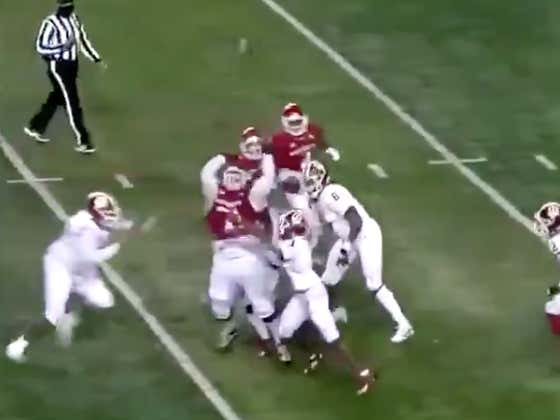 Absolute Mayhem In Rutgers Results In The Play Of The Year (Until The Big Ten Ruined It Because They Don't Like Fun)