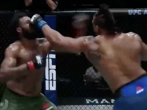 Greg Hardy Just Picked Up Another TKO Win In The UFC Heavyweight Division