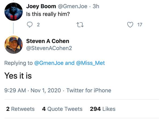 Will The Real Steve Cohen Please Stand Up!