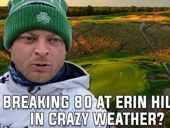 Can Riggs Break 80 At Erin Hills In Insane Winds?