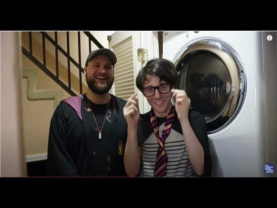 Watch This When You're High - Harry Potter Theme Song Played On A Washer & Dryer