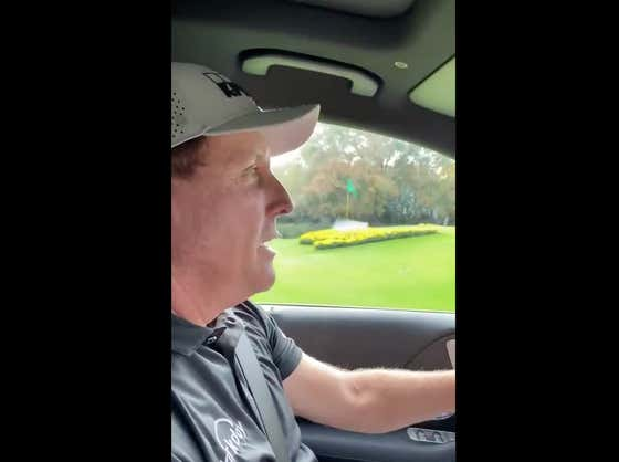 I Could Watch Phil Mickelson Drive Down Magnolia Lane And Tell Stories All Damn Day