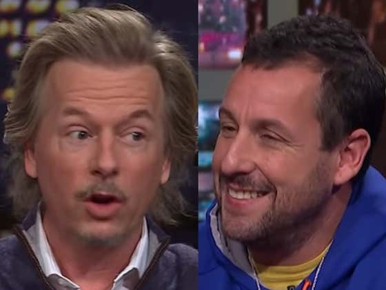 Wake Up With Adam Sandler And David Spade Grilling Each Other On 'Lights Out'