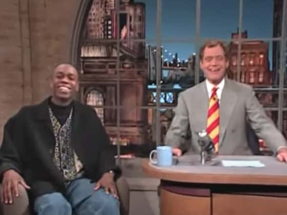 Wake Up With Every Single Time Dave Chappelle Was On Letterman