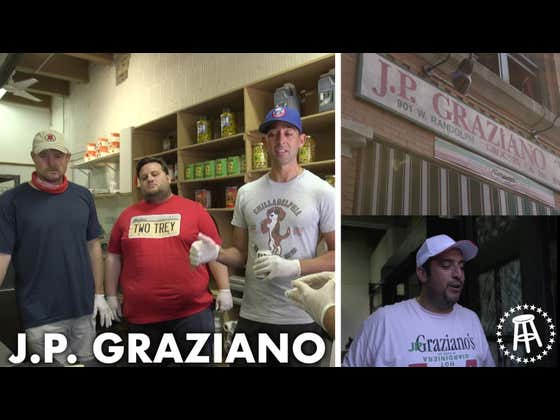 Barstool Chicago Small Business Feature - J.P. Graziano With Eddie, Carl, And Dante