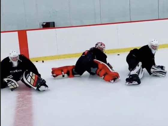 If You Think About It, The WAP Dance Is Actually A Great Goalie Drill