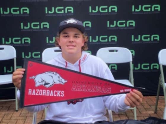 Look Out World: Little John Daly Has Committed To Play Golf At The University of Arkansas