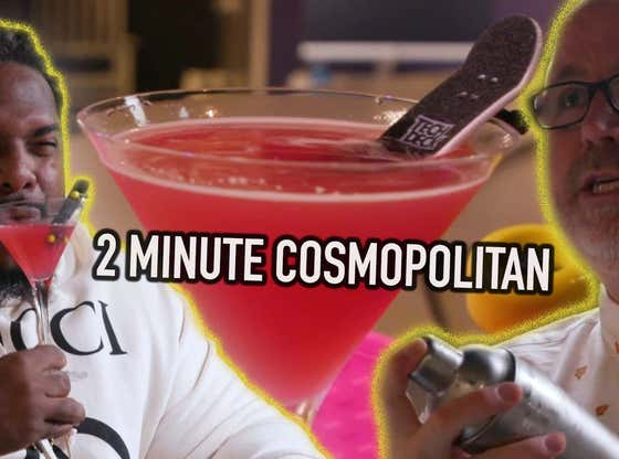Belly Up -Cranberry Cocktails