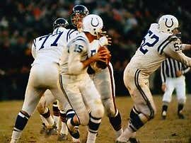 On This Date in Sports November 14,1965: Unitas Sub Throw Five TDs