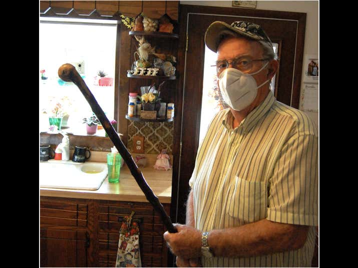 81 Year Old Former Marine From Suburban Chicago Uses Uses HIs Grandpa's Shillelagh Stick To Send Home Invaders Running