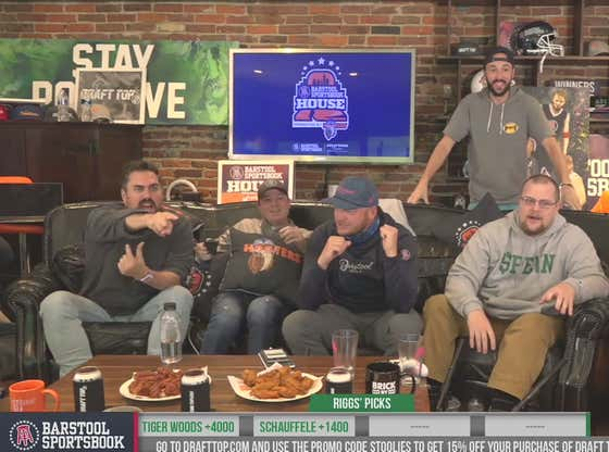 Full Replay: Masters Day 2 at the Barstool Sportsbook House