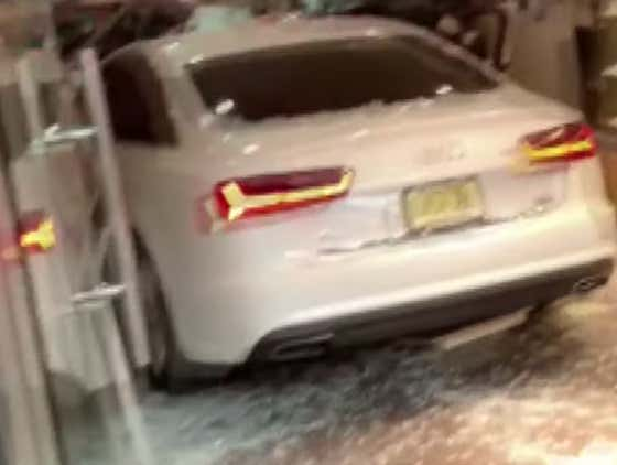 NYC Road Rage Video With Fist Fight, Baseball Bat, Man on Windshield & Car In Bakery