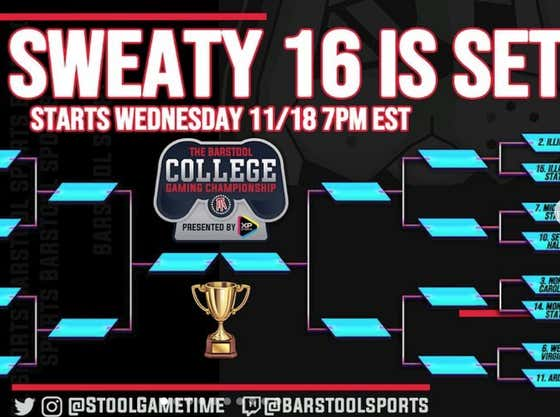 The Final 16 Of The #GamingCollegeChampionship Is LIVE NOW - JOIN TO WIN FREE PS5, XBOX SERIES X, AND $500 AMAZON GIFT CARD