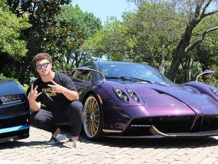 A 17 Year Old YouTuber Totals Daddy's $3.4 Million Custom Roadster and Says 'Sh*t Happens'