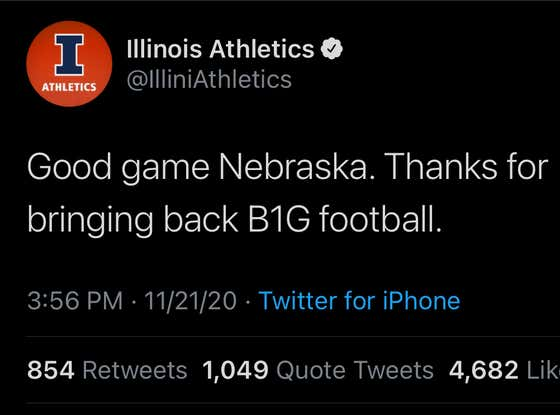 Illinois Just Put Nebraska in a Bodybag Online After Destroying the Cornhuskers on the Field