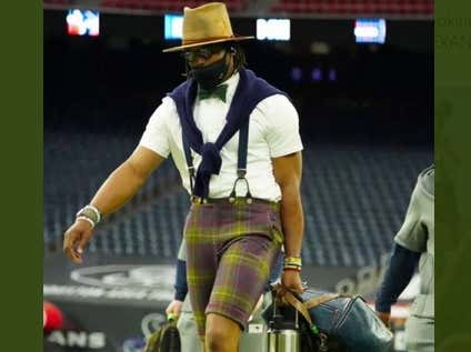 I Don't Hate Cam Newton's Response When He Was Asked About His Fashion Choice