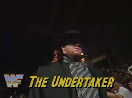 Start Your Week Off With The Undertaker's Debut At Survivor Series 30 Years Ago