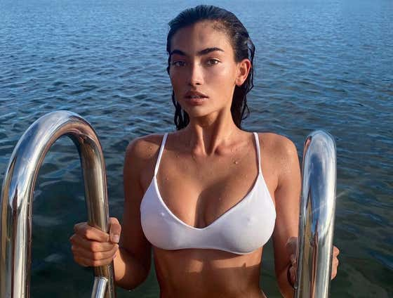How Do You Think This Instagram Model Knew This Lake Was FREEZING?
