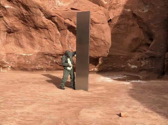 What Is Scarier: This Steel Monolith Planted In Utah By Aliens Or The Guide Stones Planted By Humans In Georgia?