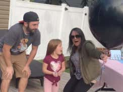 Absolute Chaos At The Gender Reveal