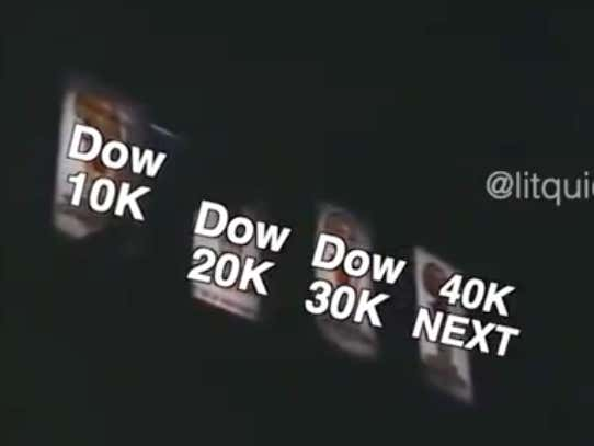 This Video Celebrating The Dow Hitting 30k Is Phenomenal