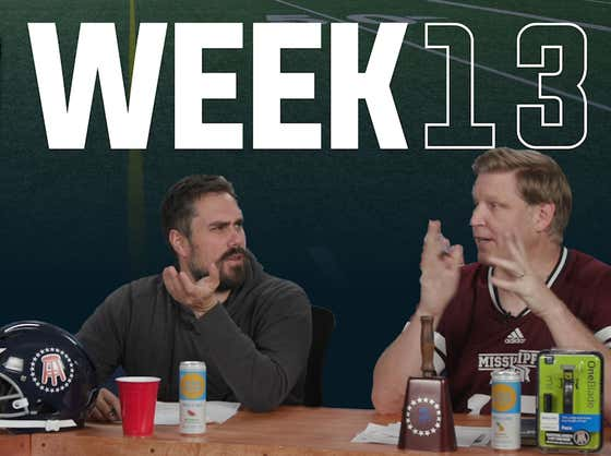 Barstool College Football Show presented by Philips Norelco - Week 13