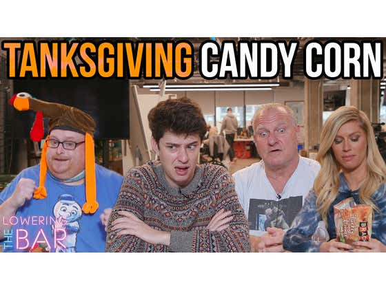Barstool Celebrates Tanksgiving With A 6 Course Candy Corn Meal