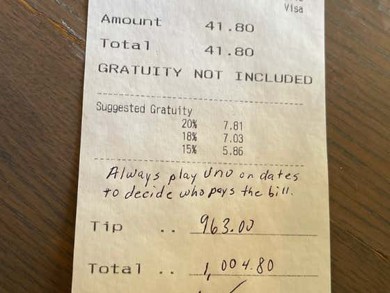Chad Johnson Left His Server A $963 Tip, In Honor Of Terry McLaurin's Receiving Yards